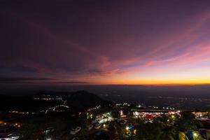 Phu Wanne Berk übersehen, Thailand foto