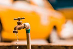 undichter Wasserhahn foto
