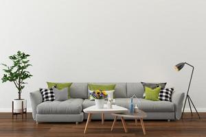 moderne Wohnzimmereinstellung