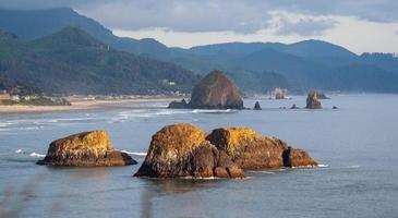 Kanone Strand Oregon foto