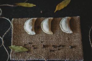 Empanadas auf Stoff foto