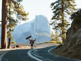 Abenteuer im Yosemite-Nationalpark foto