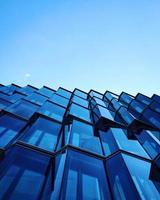 Low Angle Shot des Gebäudes foto