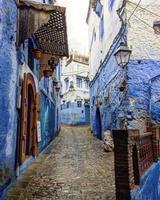 leere Gasse in Marokko foto