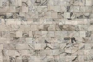 quadratische Wandfläche aus Marmor