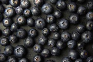 köstlicher Blaubeerhintergrund foto