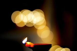 Bokeh Fotografie von Lichtern foto