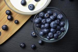 köstliche frische Blaubeeren