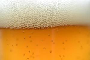eiskaltes Pint Bier foto