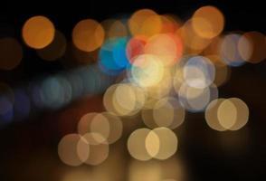 abstraktes Glitzer-Bokeh foto