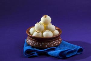 indisches Rasgulla-Dessert foto