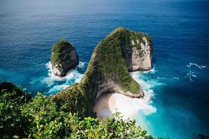 Insel in Bali foto