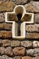 Weißes Kreuz foto