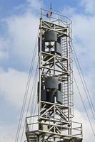 Windkraftanlage mit vertikaler Achse foto