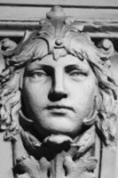 Gesicht der Göttin Hera foto