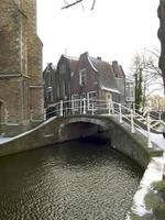 delft - kerkstraat foto