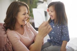 mit meiner mama alphabet lernen foto