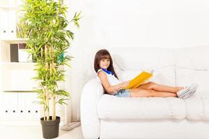 Lesen entwickelt Vorstellungskraft foto