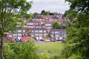 englische Wohnsiedlung foto