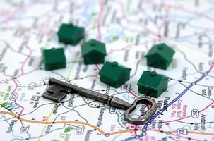 ein Bild, das Immobilien symbolisiert foto