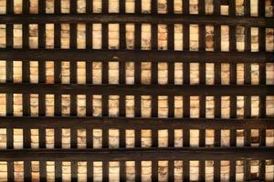 Hintergrund des chinesischen alten Hausdaches foto