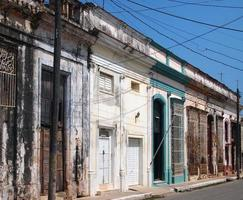Häuser in Cardenas, Kuba foto