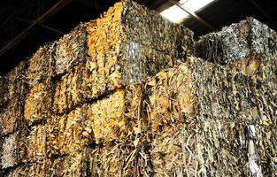 Recyclingpapier foto