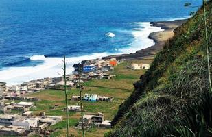 Vegetation über Mosteiros foto
