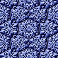 Maya-Ornamente nahtlos mieten erzeugte Textur foto