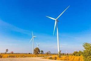 Windkraftanlage in Thailand