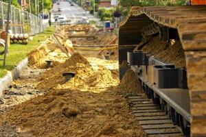 Straßenrenovierung foto