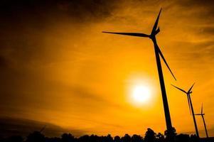 Windkraftanlage foto