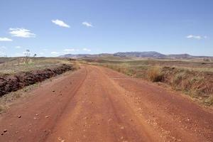 Feldweg, Madagaskar foto
