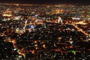 Damaskus in der Nacht 2010 foto