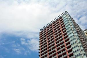 Tokio Wohnung und blauer Himmel foto
