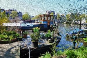 Amsterdam Illustration foto