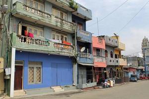 Straße in Colombo foto