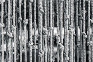 Jalousien aus Seil foto