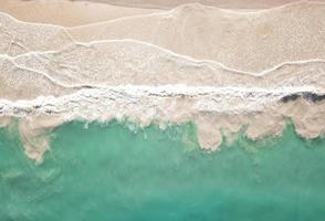 Luftaufnahme der Küste foto
