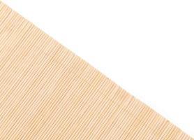 Bambusoberfläche der Matte foto