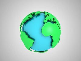 abstrakter Globus foto