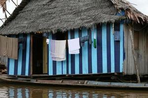 Wäsche in Belen - Peru foto