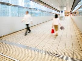 Stadtrhythmen - schnell, schnell. Hauptverkehrszeit auf der Straße foto