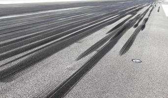 Bremsspuren