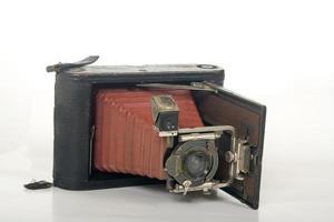 sehr alte Fotokamera foto