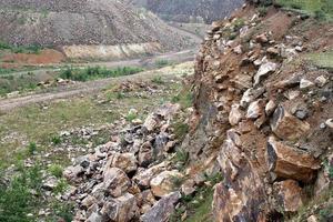 steinige Landschaft foto