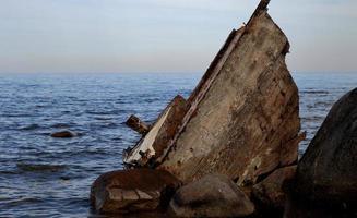 Schiffswrack foto