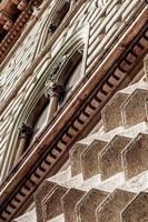 Fassade eines Gebäudes foto