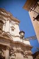 Blick auf die Kirche von St. Irene, Lecce foto
