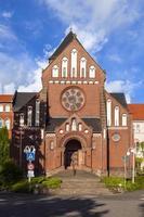 Fassade der Mission in st. Wendel